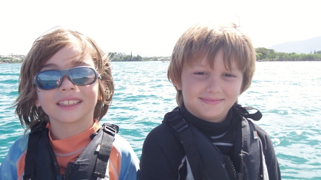 Léo (à gauche) et Sam: deux copains bien complices.