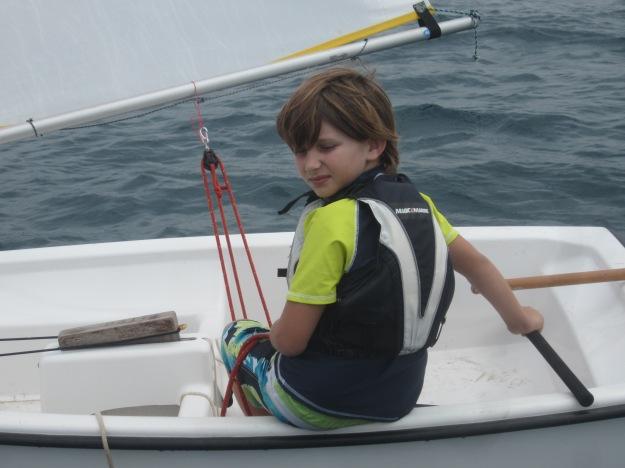 Samuel: un retour en leader à la SRC après avoir traverser toute la baie de Sainte Marie.