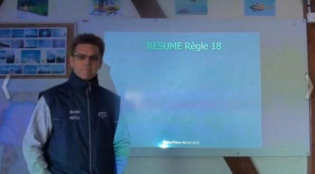 RCV: La Règle 18 expliquée par Thierry Poirey