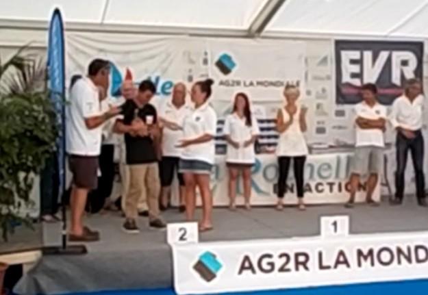 Une remise des prix très émouvante où Ange a été chaleureusement applaudi et félicité par les officiels et les participants.