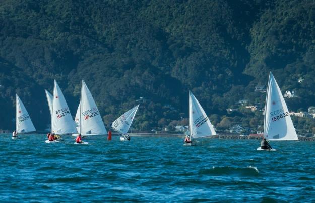 Muritai Yacht Club à Wellington: c'est le site du National NZ de laser.