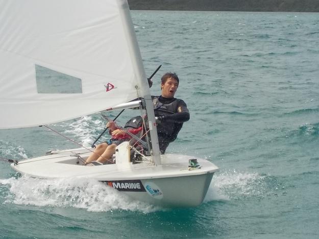 Ange Margaron: beaucoup de volonté et de travail pour des projets sportifs et professionnels dans la voile.