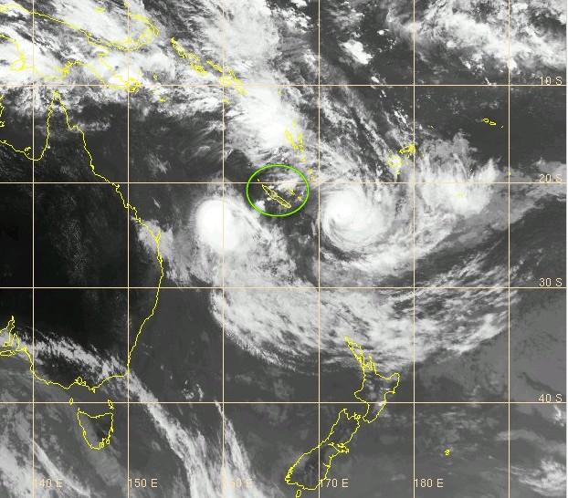 La Nouvelle Calédonie échappe de justesse aux passages de deux cyclones.