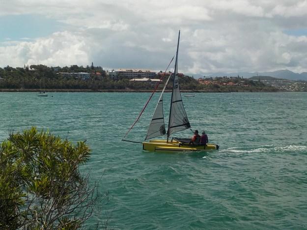 Ce petit bateau remplit le cahier des charges pour développer le secteur handivoile en Calédonie.