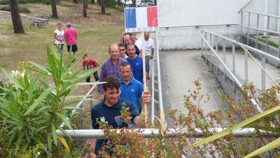 Ange Margaron, porte drapeau de la délégation tricolore, nous commente son championnat d'Europe de 2.4