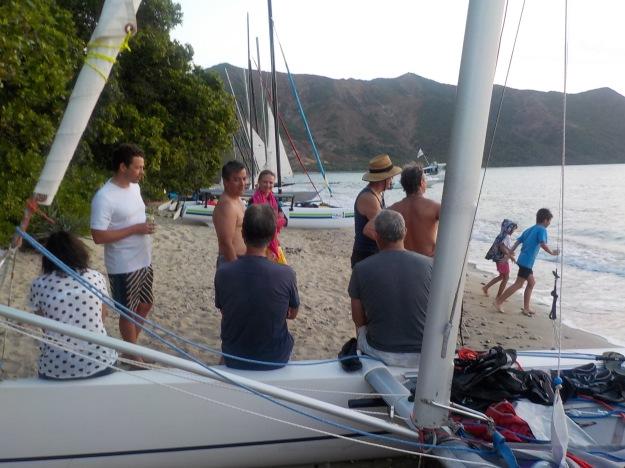 Trois jours de raid inoubliables avec le catamaran club de Nouméa