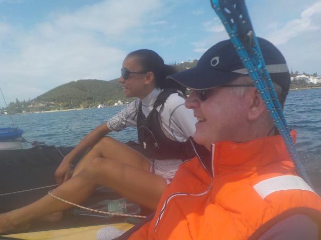 Philippe Taylor, tétraplégique, raconte sa troisième sortie en trimaran et évoque un projet pour que les handicapés calédoniens puissent bénéficier du plaisir de naviguer.